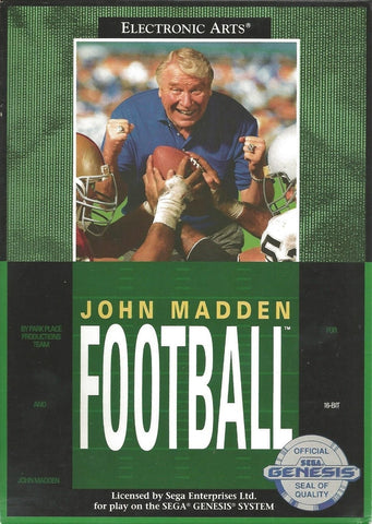 John Madden Football - SEGA Genesis [USED]