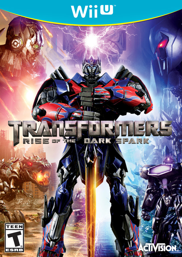 Transformers: Rise of the Dark Spark - Nintendo Wii U [NEW]