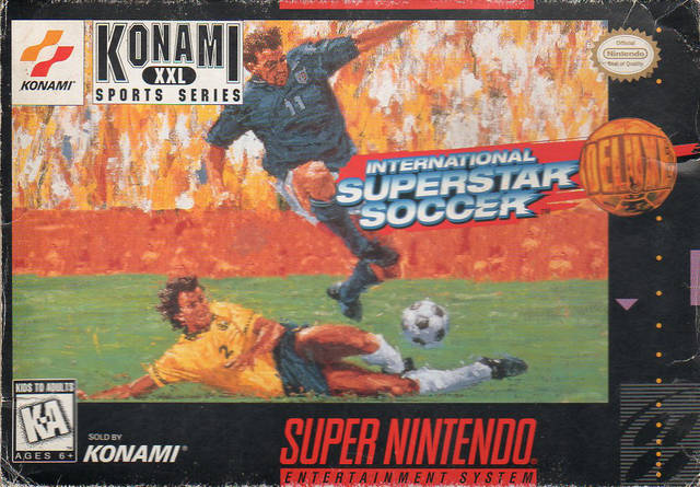 International Superstar Soccer Deluxe - Super Nintendo [USED]