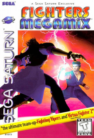 Fighters Megamix - SEGA Saturn [USED]