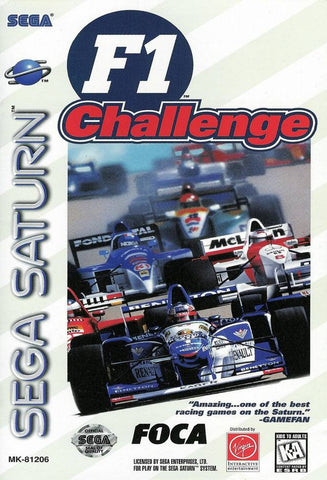 F1 Challenge - SEGA Saturn [NEW]
