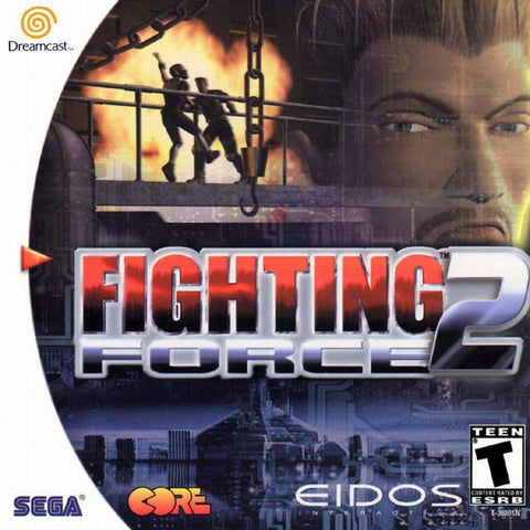 Fighting Force 2 - SEGA Dreamcast (ACT, 1999) [USED]