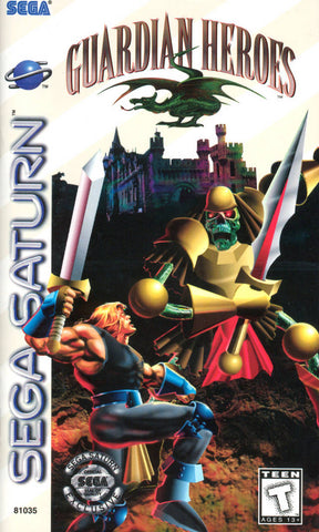 Guardian Heroes - SEGA Saturn [USED]
