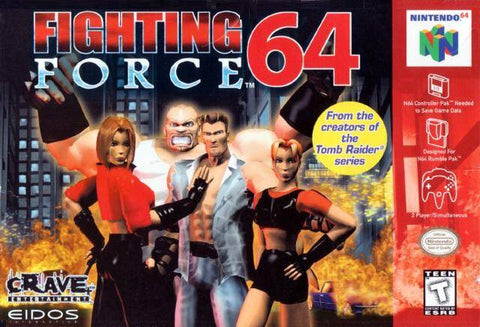 Fighting Force 64 - Nintendo 64 [USED]