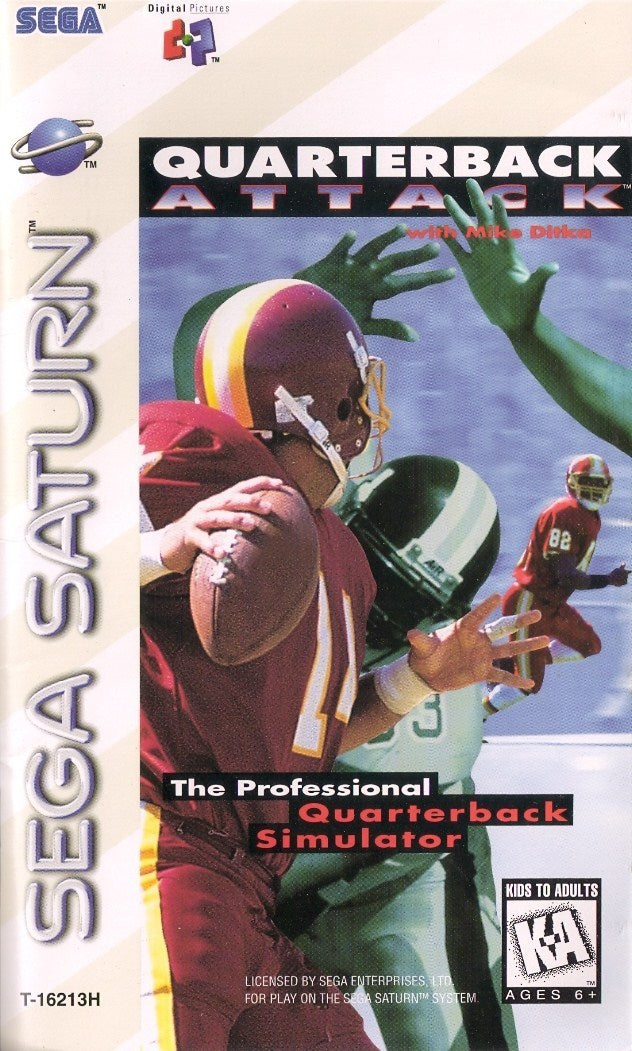 Quarterback Attack with Mike Ditka - SEGA Saturn [NEW]