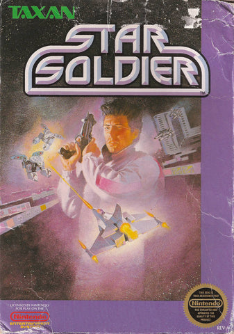 Star Soldier - Nintendo NES [USED]