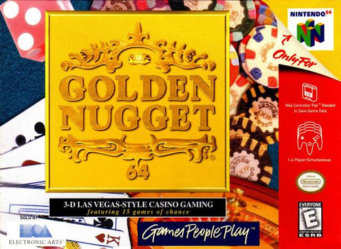 Golden Nugget 64 - Nintendo 64 [USED]