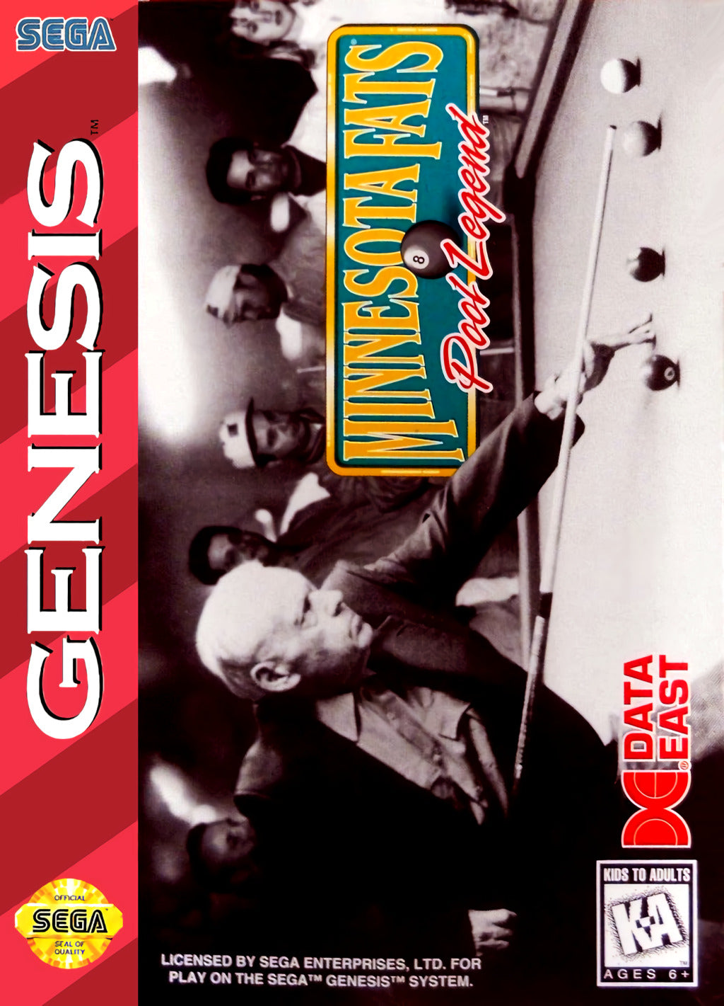 Minnesota Fats: Pool Legend - SEGA Genesis [USED]