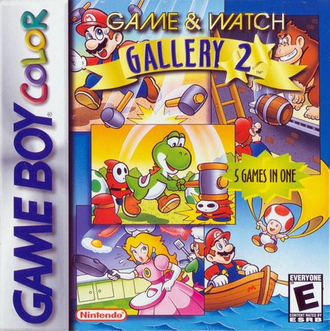 Game & Watch Gallery 2 - Game Boy Color [USED]