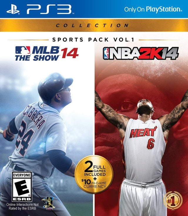 Sports Pack Vol. 1: MLB 14 The Show / NBA 2K14 - PlayStation 3