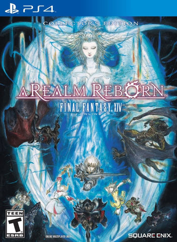 Final Fantasy XIV Online: A Realm Reborn (Collector's Edition) - PlayStation 4