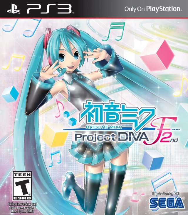 Hatsune Miku: Project Diva F 2nd - PlayStation 3