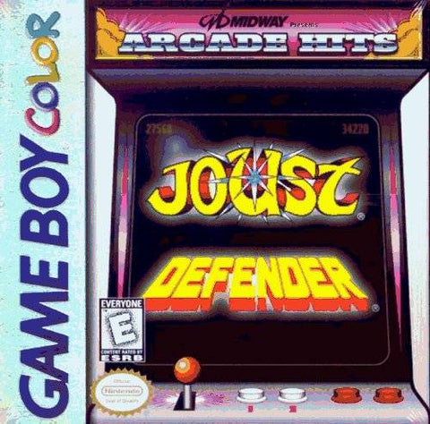 Midway Presents Arcade Hits: Joust / Defender - Game Boy Color [USED]