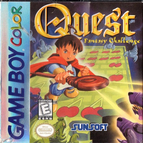 Quest: Fantasy Challenge - Game Boy Color [NEW]