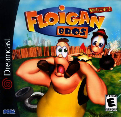 Floigan Bros. Episode 1 - SEGA Dreamcast (ACT, 2001) [USED]