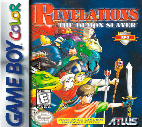 Revelations: The Demon Slayer - Game Boy Color [USED]