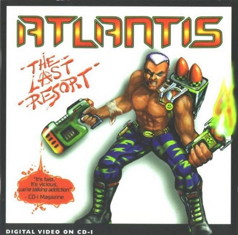 Atlantis: The Last Resort - CD-I