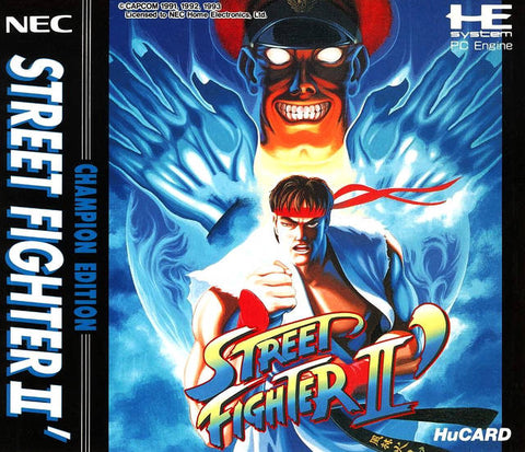 Street Fighter II': Champion Edition - TurboGrafx-16 (Japan)