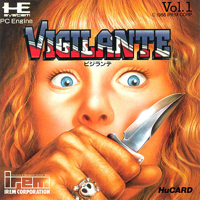 Vigilante - TurboGrafx-16 (Japan)