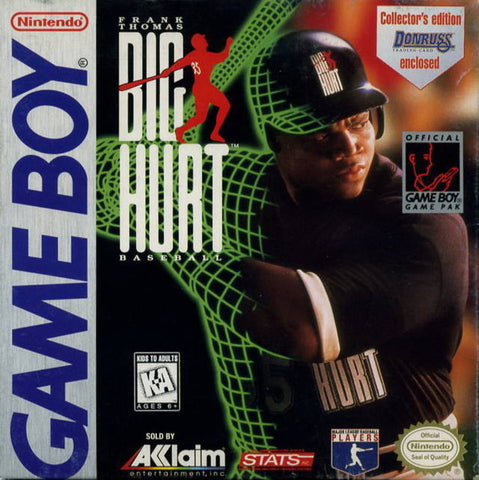 Frank Thomas: Big Hurt Baseball - Game Boy [USED]