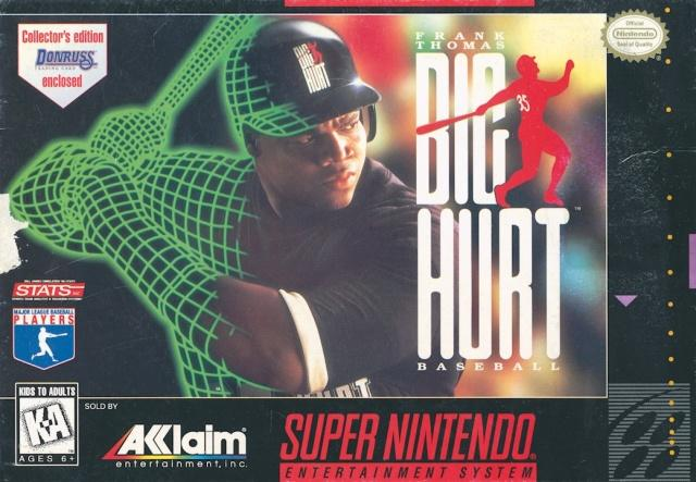 Frank Thomas Big Hurt Baseball - Super Nintendo [USED]