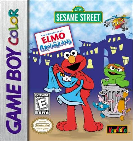 Sesame Street: The Adventures of Elmo in Grouchland - Game Boy Color [USED]