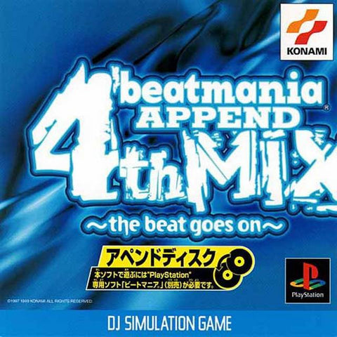 BeatMania Append 4th Mix ~the beat goes on~ - PlayStation (Japan)