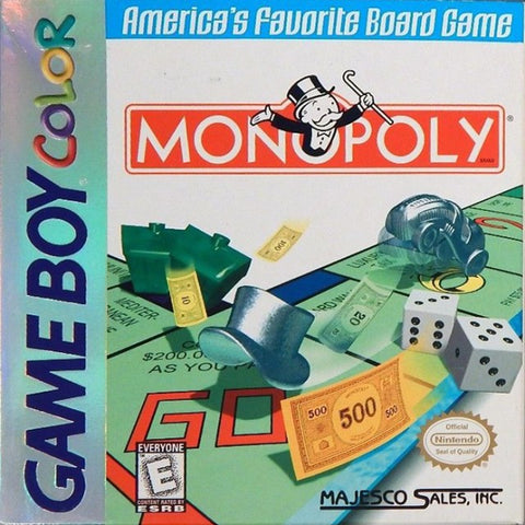 Monopoly - Game Boy Color [USED]