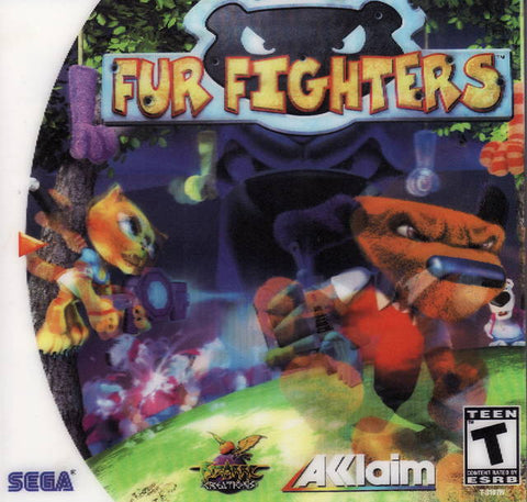 Fur Fighters - SEGA Dreamcast (TPS, 2000) [USED]