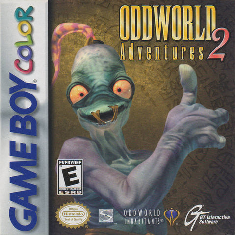 Oddworld Adventures 2 - Game Boy Color [USED]
