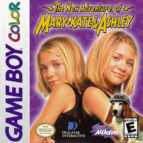 The New Adventures of Mary-Kate & Ashley - Game Boy Color [USED]