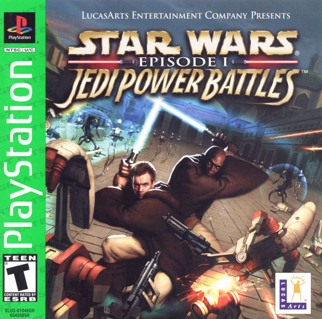 Star Wars Episode I: Jedi Power Battles (Greatest Hits) - PlayStation