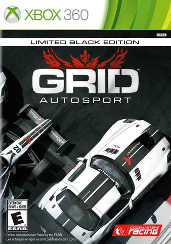 GRID Autosport (Limited Black Edition) - Xbox 360