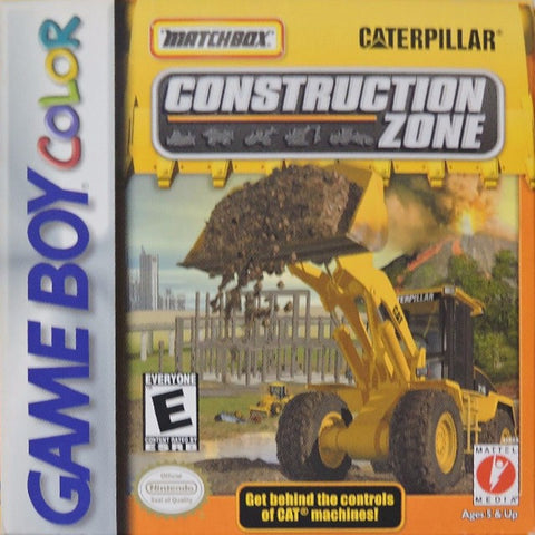 Matchbox Caterpillar Construction Zone - Game Boy Color [USED]