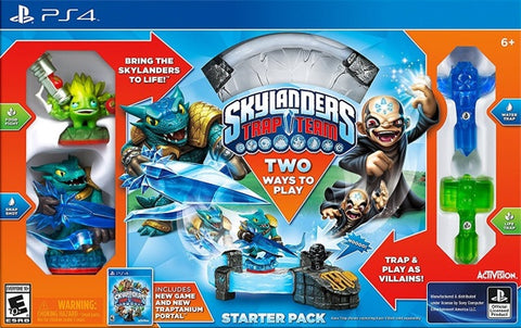 Skylanders Trap Team (Starter Pack) - PlayStation 4