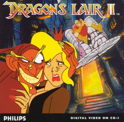 Dragon's Lair II: Time Warp - CD-I