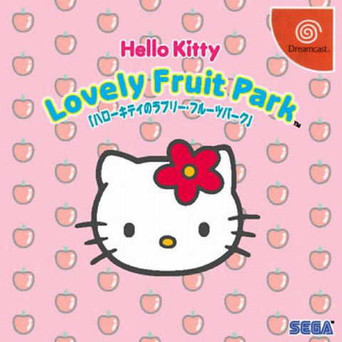 Hello Kitty: Lovely Fruit Park - SEGA Dreamcast (PUZ, 1999) [USED]