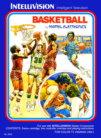 Basketball - Intellivision [USED]
