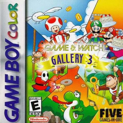 Game & Watch Gallery 3 - Game Boy Color [USED]