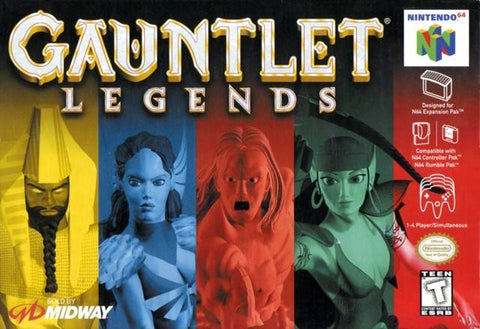 Gauntlet Legends - Nintendo 64 [USED]