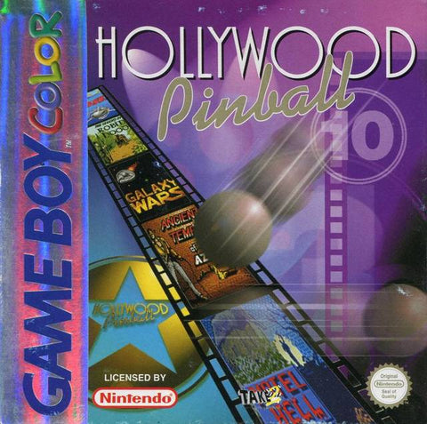 Hollywood Pinball - Game Boy Color (Europe) [USED]