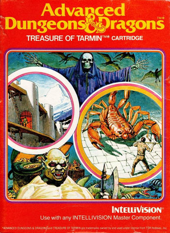 Advanced Dungeons & Dragons: Treasure of Tarmin - Intellivision [USED]