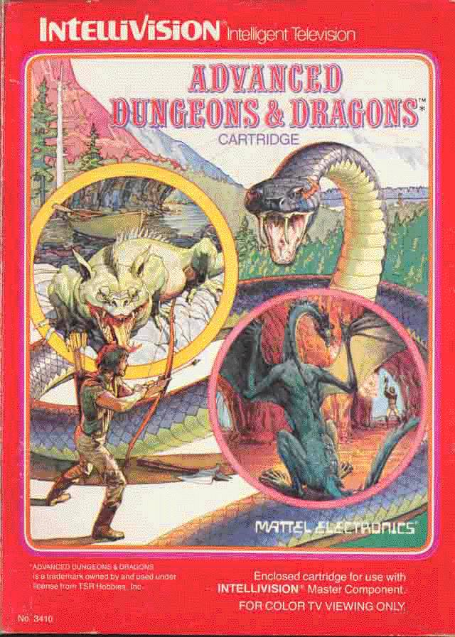 Advanced Dungeons & Dragons - Intellivision [USED]