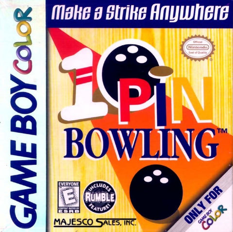 10 Pin Bowling - Game Boy Color