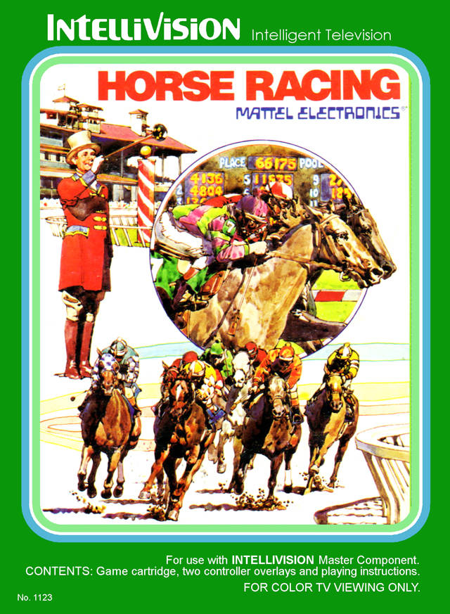 Horse Racing - Intellivision [USED]