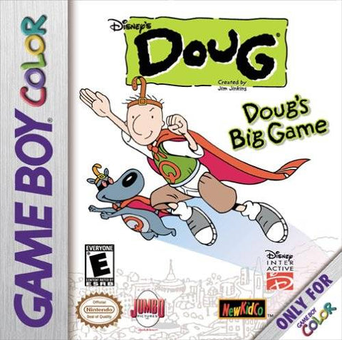 Disney's Doug: Doug's Big Game - Game Boy Color [USED]