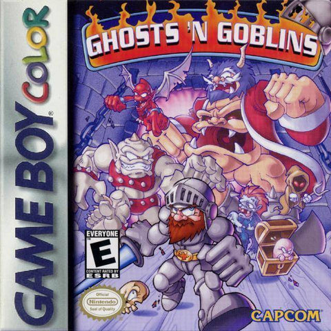 Ghosts 'n Goblins - Game Boy Color [USED]
