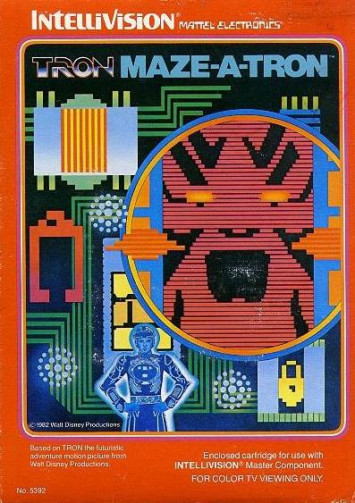 Tron: Maze-a-Tron - Intellivision [USED]