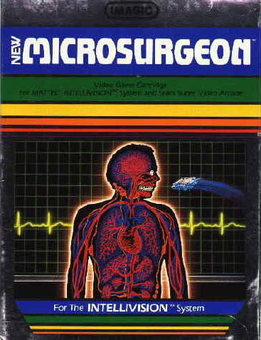 Microsurgeon - Intellivision [USED]