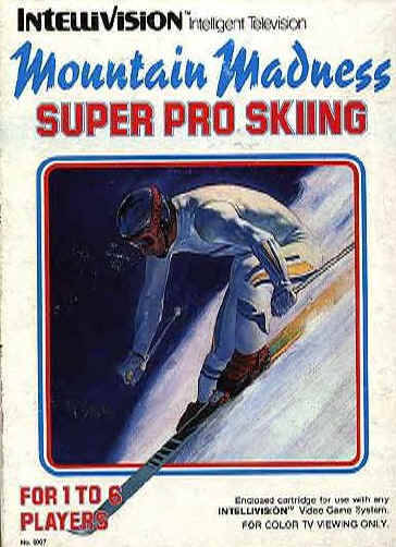 Mountain Madness Super Pro Skiing - Intellivision [USED]